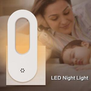 Built-in-Sensitive-Light-Sensor-2LED-Night-Light-Warm-White-Bedroom-Wall-Plug-in