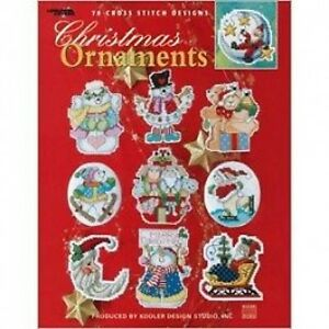 Christmas-Ornaments-Cross-Stitch-Chart-Pattern-Book-78-Designs