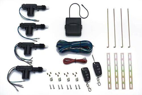 Universal Car Auto Bloqueo Central de entrada sin llave Actuador Motor Audi remoto clave