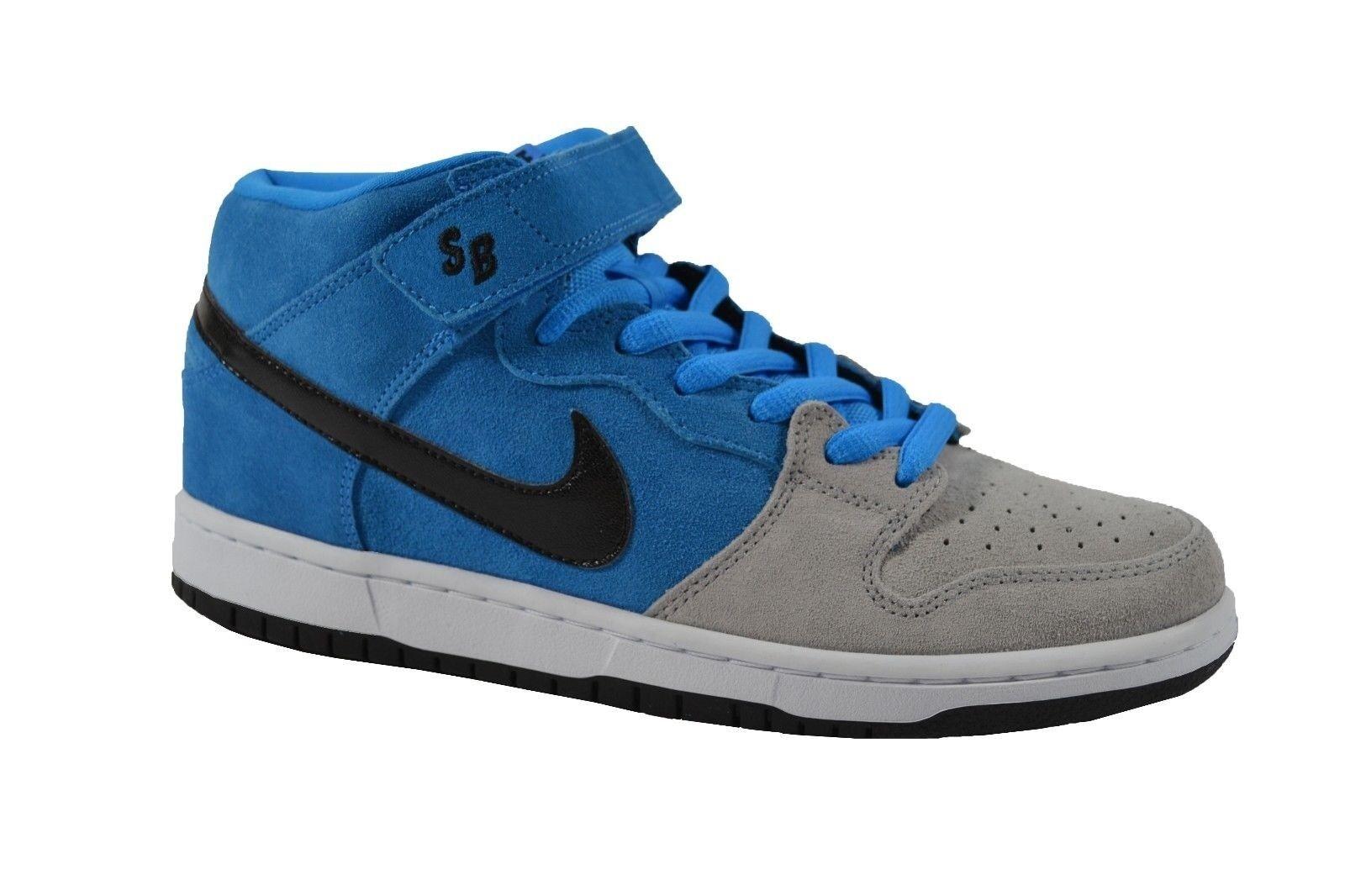 Nike DUNK PRO SB Hero Blue Black Wolf Men's Grey Skate Discounted (286) Men's Wolf Shoes 64de5b
