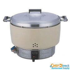 New Rinnai Propane Gas Rice Cooker 55 Cups RER-55ASL NSF - MADE IN JAPAN