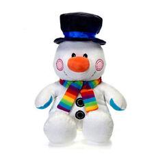 Fiesta Plush - Christmas - SNOWMAN (Sitting - 12 inch) - New Stuffed Animal Toy