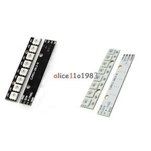 WS2812 5050 RGB LED Lamp Panel Module 5V 8-Bit Rainbow LED Precise White Black