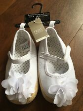 NEXT Pre-walker White Shoes Size 4 18-24 Months