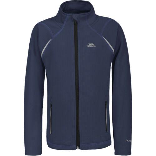 TRESPASS filles harbird Tricot Polyester Zip Complet Quick Dry Fleece Top