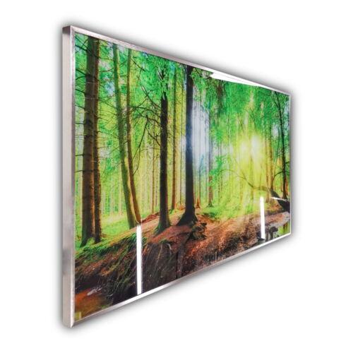 InfrarotPro Glas-Heizung mit Bild Infrarotheizung Heizplatte 350-1200 Watt 067