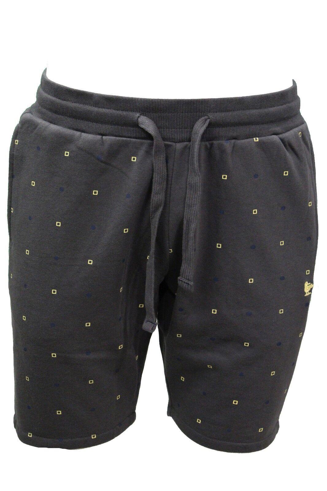 Bermuda tuta tuta tuta da uomo grigio Smithy's short corto casual moda elasticizzato 8e72b4
