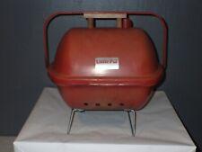 Vintage Little Pal Portable Retro Mini Bbq Grill Smoker Tailgate Texas Usa Made