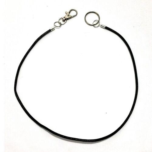Echtleder Hosenkette Schlüsselanhänger Schlüsselkette Schnur Karabiner Key Ring