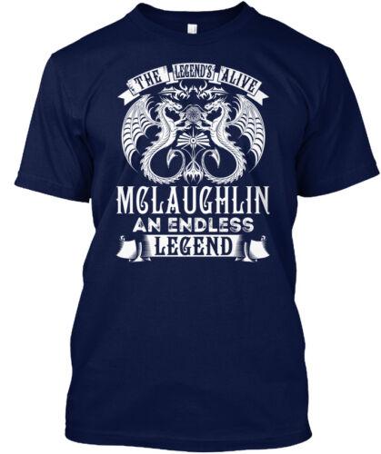 McLaughlin vivant nom S-La légende de une interminable légende Standard Unisexe T-Shirt