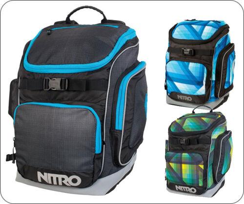 BANDIT Rucksack von Nitro Schulrucksack Kinderrucksack in GEO GREEN GEO OCEAN A4