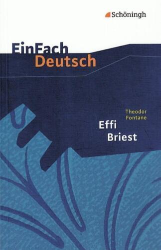 1 von 1 - EinFach Deutsch Textausgaben von Stefan Volk (2005, Taschenbuch) Theodor Fontane