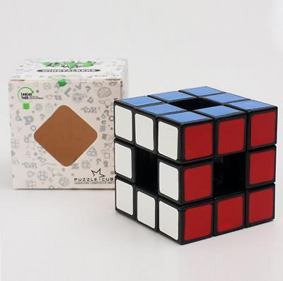 HMQC Lanlan Void Empty Hollow Out Magic Cube 3x3x3 Magic Cube transparent