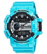 Casio GShock * GBA400-2C G'MIX Music iOS Android Bluetooth Light Blue COD PayPal