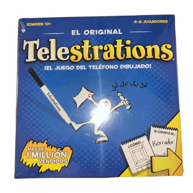 Telestrations 8 Player Spanish Usaopoly Family Board Games For Sale Online Ebay
