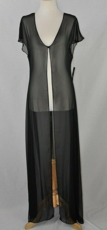 A.B.S. de ALLEN SCHWARTZ Soirée Sheer Robe Cover-Up, taille 8