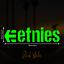2 x Etnies Neon UV Fluorescent Blacklight Reactive Decal Stickers in Green Neon