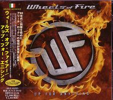 WHEELS OF FIRE Up For Anything + 1 JAPAN CD James Christian Robin Beck Danger