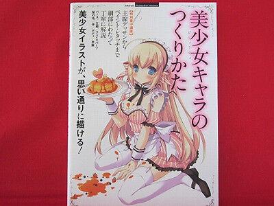How to Draw Manga Book 'How to create Moe Kawaii Character'