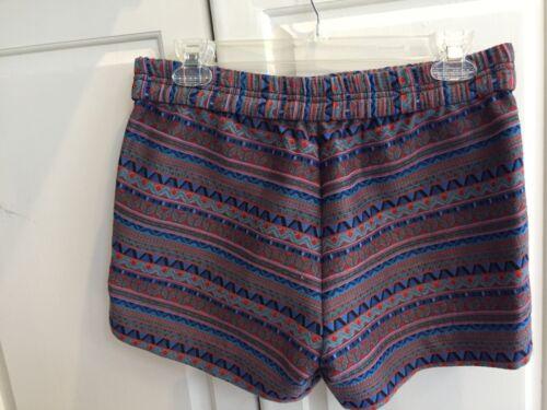 2 Eccellente J fantasia Isle Crew Fair Pantaloncini Aztec Jacquard aZ0qwpR