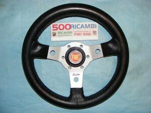 FIAT-500-F-L-R-VOLANTE-SPORTIVO-A-3-RAZZE-LUISI-ARGENTO-CLACSON-FIAT-NIBBIO-32