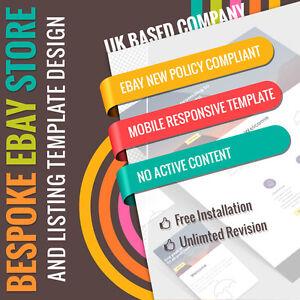 Custom EBay Store Shop Logo Listing Template Design Service - Custom ebay store template