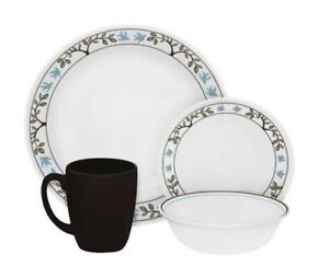Exceptionnel Image Is Loading Autumn Tree Dinnerware Dish Set For 8 Service