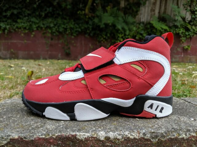 low priced bc012 abb8d DS NIKE AIR DIAMOND TURF II 2 DT RED BLACK sz 5.5Y RETRO san francisco 49ers