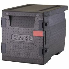 Cambro Cam Gobox Black Plastic Front Loading Pan Carrier 25 25l X 17 310w