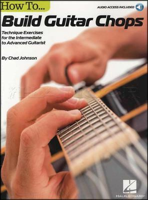 Official Website How To Build Guitar Chops Tab Music Book With Audio Technique Exercises Advanced Products Are Sold Without Limitations