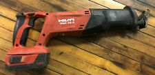 Hilti Wsr 22 A Reciprocating Saw With Battery Nice