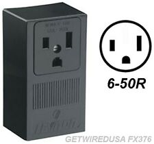 Welder 3 Prong 6 50r Female Receptacle 3 Pin Power Cord Plug In Box Wall Outlet