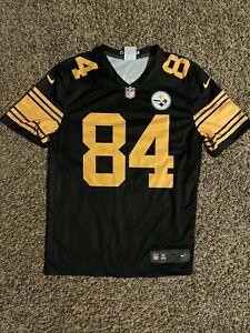 Antonio Brown Pittsburgh Steelers Color Rush Football Jersey #84 Nike Dri Fit