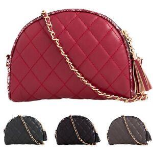 Women-039-s-Faux-Leather-Clutch-Bag-Ladies-Mini-Crossbody-Bags-UK
