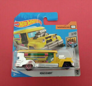 HOT-WHEELS-ROAD-BANDIT-HW-METRO-SHORT-CARTE-GHB83-R-5966