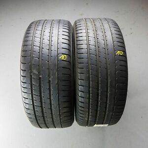 2x-Pirelli-P-Zero-AO-245-45-r18-100y-Dot-1714-5-mm-pneus-d-039-ete