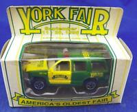 1998 Matchbox 1/64 Diecast Limited Edition York Fair Police Car Mint Free Ship