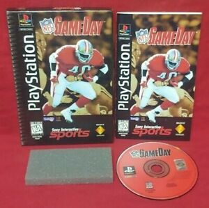 NFL GameDay NFL Football Playstation 1 2 PS1 PS2 Game Complete Works Long Box