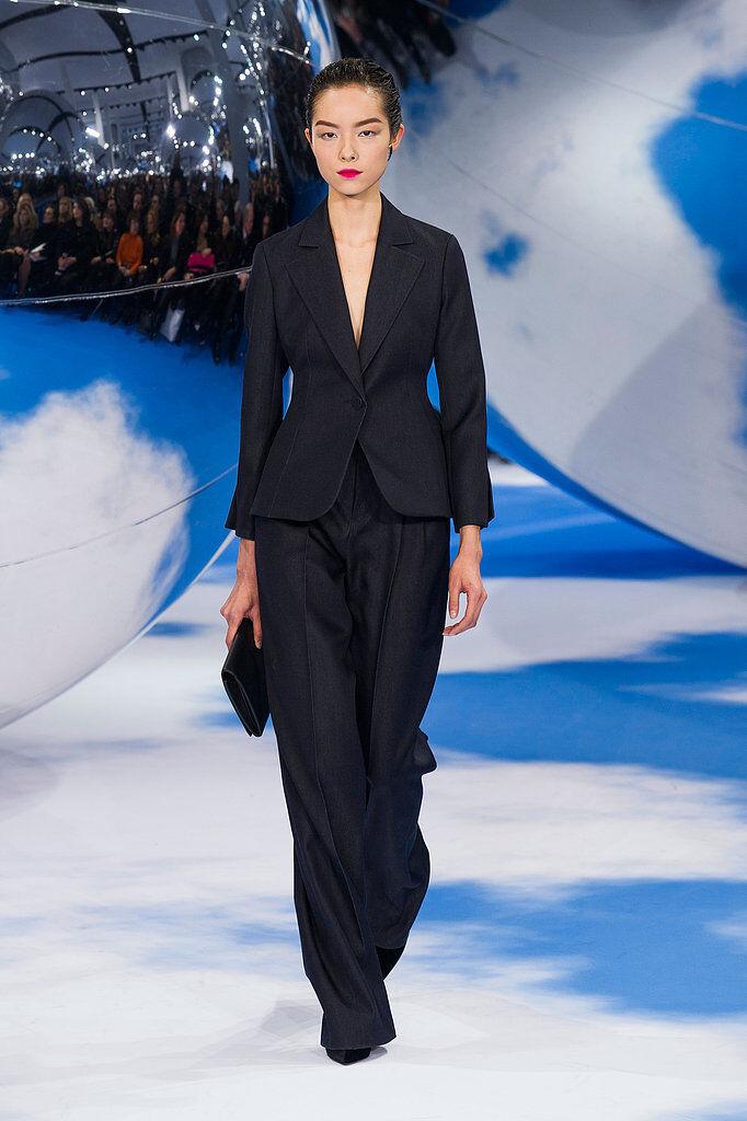 Christian Dior   Denim Wool Pants Sz 34 F 2USA NEW