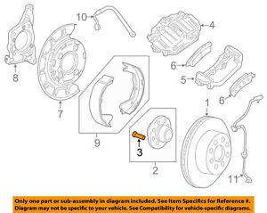 GM OEM Brake-Rear-Wheel Stud 9595178