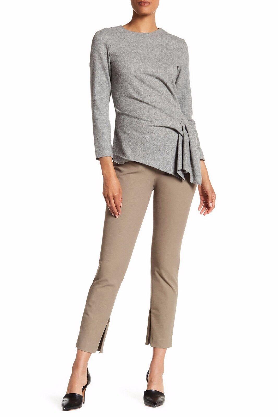 NEW TheoryAlettah NP Jetty Slim Pants,KHAKI, SIZE 8,  265 retail