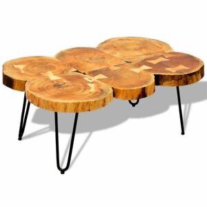 vidaXL-Solid-Sheesham-Wood-Coffee-Table-Side-Table-35cm-6-Trunks-Desk-Home