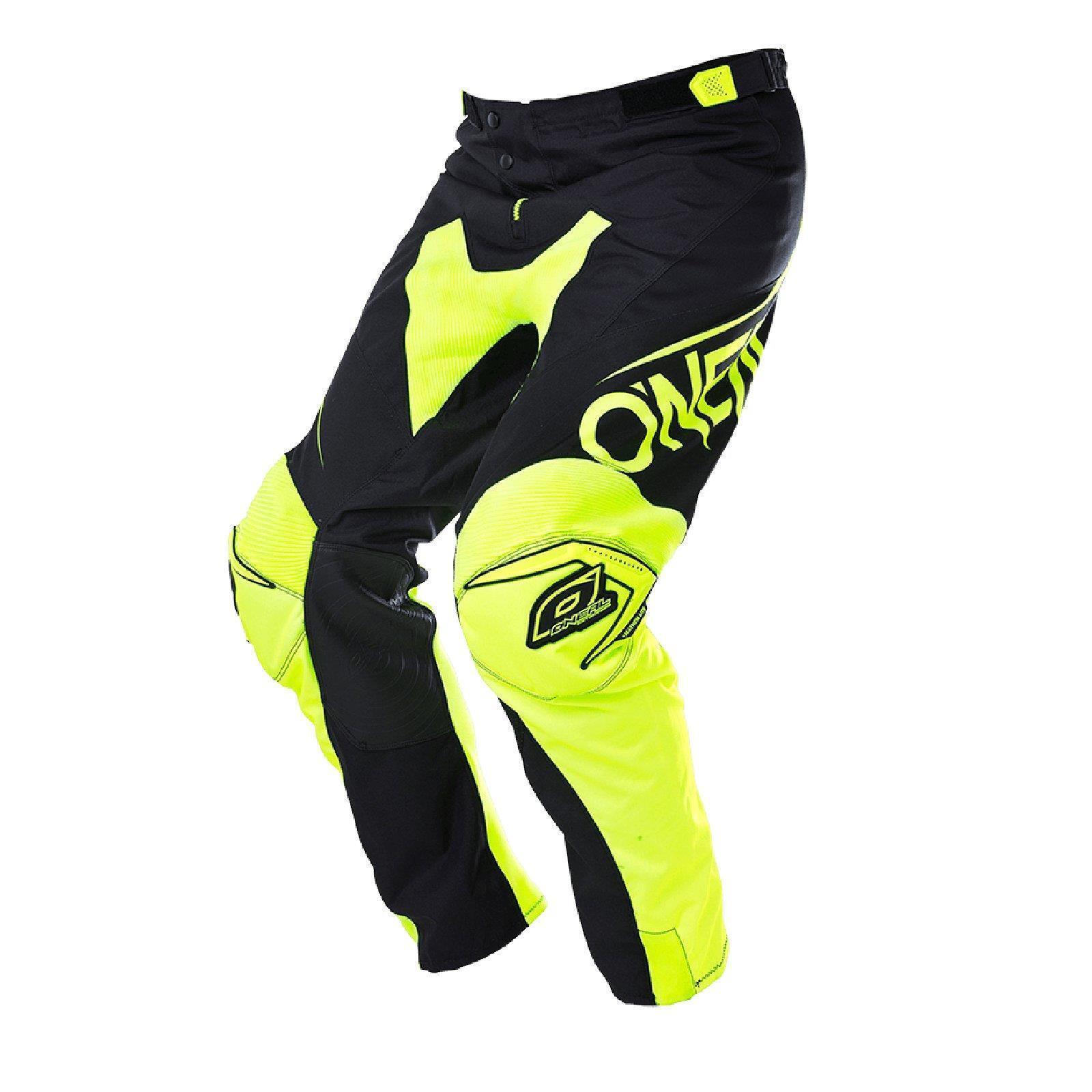 O 'Neal Mayhem Lite Pantaloni bloccante Gituttio Neon DOWNHILL DH FR MTB Mountain bicicletta Pant