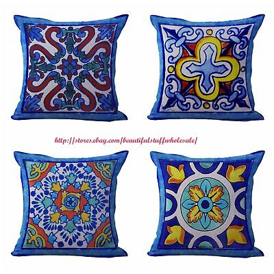 Purple E5G Home Sofa Bed Car Square Decorative Throw Pillow Case Cushion Cover