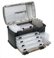 Tackle Box Fishing Tray Racks Plano System Organized Storage 5 Utility Bait Case