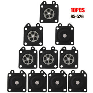 10pc//set Metering Diaphragm Gasket Replace for Carburetor Carb 95-526  #ur