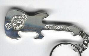 Hard Rock Key Chain Ottawa Bottle Opener guitar