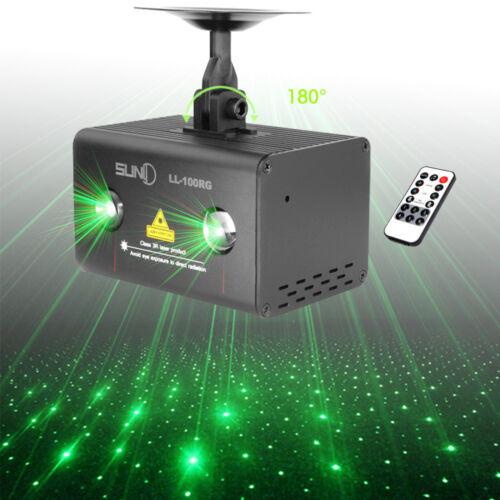 LED Laser RGB Projektor Bühnenlicht DJ Disco Party Lichteffekt Licht Lampe DHL