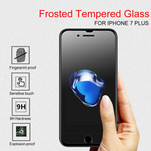 uk availability ccfec 52784 Details about Anti Glare Matte Screen Protector Tempered Glass Film For  iPhone X 6S 7 8 Plus