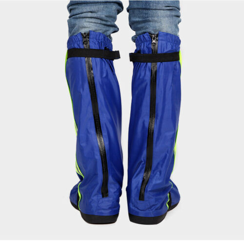 Rain Boot Reusable Rain Cover Shoes Waterproof Motorcycle Rain Boots Nonslip